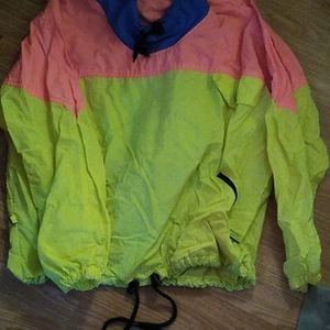Vintage neon top